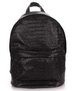 Рюкзак из кожзам CROCO BLACK