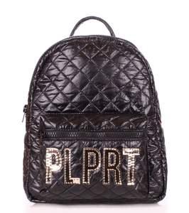 Стеганый рюкзак Plprt STITCH black