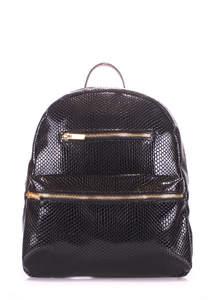 Рюкзак из кожзама mini bckpck lizard black