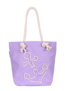 Летняя пляжная сумка anchor-lilac-none
