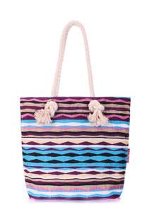 Летняя пляжная сумка anchor-rasta-blue
