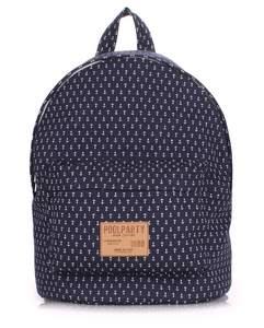 Тканевый рюкзак из хлопка anchor-darkblue