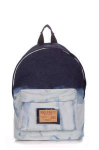 Джинсовый рюкзак Backpack Bleach