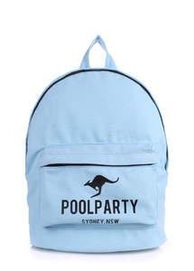 Тканевый рюкзак из хлопка Backpack Kangaroo blue