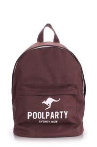 Тканевый рюкзак из хлопка Backpack Kangaroo brown