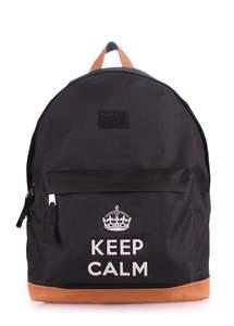 Рюкзак keepcalm black