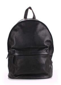 Кожанный рюкзак leather-black