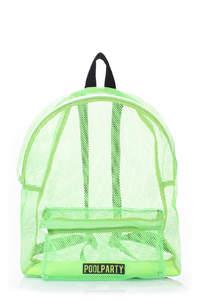 Сетчатый рюкзак Mesh-green