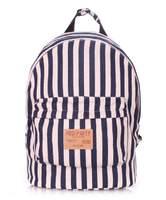 Тканевый рюкзак из хлопка NAVY blue
