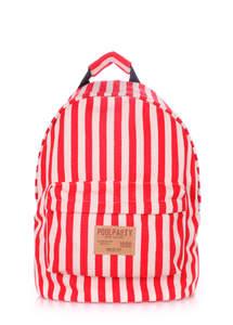 Тканевый рюкзак из хлопка NAVY red
