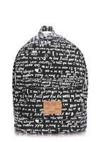 Тканевый рюкзак из хлопка signature-darkblue