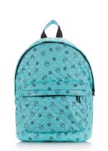 Вместительный яркий рюкзак blue Ducks