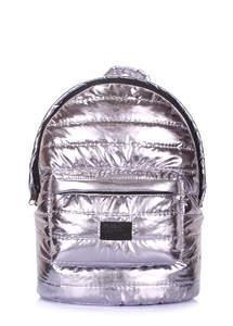 Стеганый портфель theone-silver