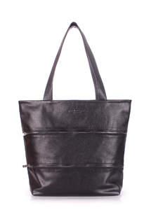 Женская кожаная сумка Choice black