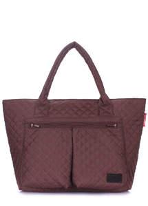 Стеганая сумка future-brown