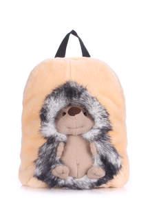 Детский мягкий рюкзак hedge grey