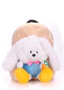 Детский мягкий рюкзак Rabbit white