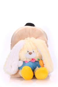 Детский мягкий рюкзак Rabbit yellow