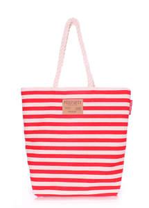 Летняя пляжная сумка Laspalmas red