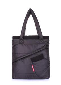 Стеганая сумка с рукавичкой mitten-black