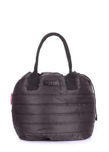 Стеганая сумка muffin-black