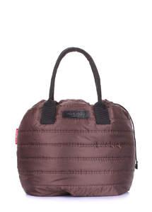 Стеганая сумка muffin-brown