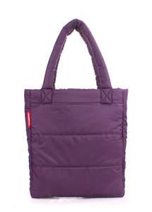 Женская дутая стеганая сумка ns3 violet