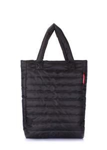 Женская дутая стеганая сумка ns3 Black new