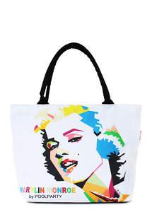 Летняя пляжная сумка с принтом Journey MONROE