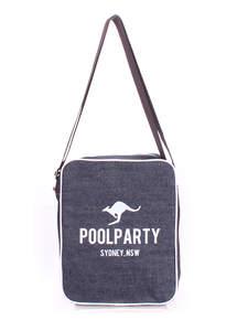 Джинсовая сумка на плече pool18