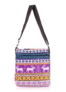 Стеганая сумка на плечо pool 59 blue violet