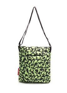 Стеганная сумка-планшет на плече pool 59 Green rabbits