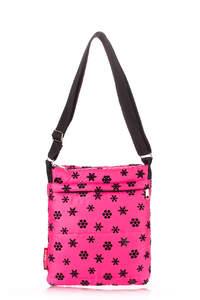 Стеганная сумка-планшет на плече pool 59 snow Pink