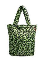 Стеганная сумка с кроликами 61 Green Rabbits