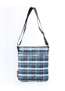 Стеганная сумка-планшет на плече pool 62 Scott Blue