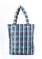 Стеганная сумка на синтепоне 63 Scott Blue