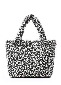 Стеганная сумка с кроликами pool 65 white