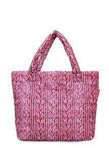 Стеганая дутая сумка pool 68 Red Sweater