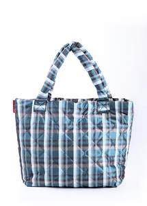 Стеганная сумка на синтепоне 70 Scott Blue