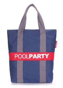 Молодежная летняя сумка  pool 82 darkblue-grey-red