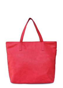 Женская кожзам сумка pool88 Red PU
