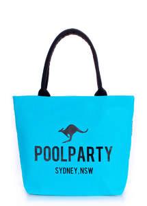 Летняя тканевая сумка pool9 синяя