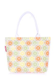 Летняя пляжная сумка с принтом pool9 Citrus