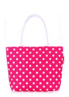 Летняя пляжная сумка с принтом pool9 Pink Dots