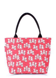 Летняя пляжная сумка с принтом pool9 Red Bears