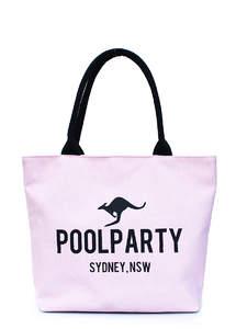 Летняя пляжная тканевая сумка Pool 9 Rose