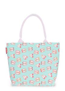 Летняя пляжная сумка с принтом pool9 shoes