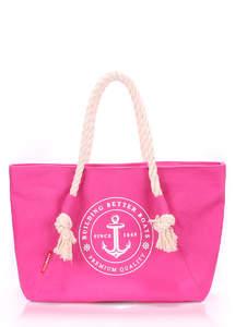 Летняя пляжная тканевая сумка Pool breeze pink