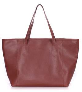 Женская кожзам сумка Pool brown Safyan