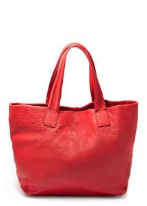 Женская кожзам сумка Pool Diva red